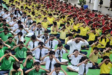 INTERNATIONAL YOGA DAY 2017-18