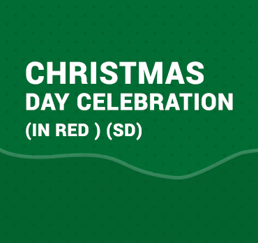 CHRISTMAS DAY CELEBRATION (IN RED ) (SD)